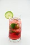 Ice tea. Aqua de jamaica ice tea Royalty Free Stock Photography