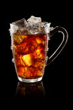 Ice tea cup Royalty Free Stock Photos