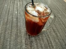 Ice tea drink Royalty Free Stock Images