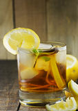 Ice tea with lemon Stock Image