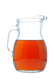 Ice tea pitcher Royalty Free Stock Image