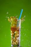 Ice tea splash Royalty Free Stock Photography