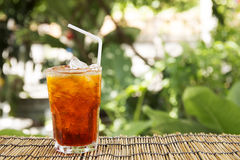 Ice Tea Thai style Royalty Free Stock Photography