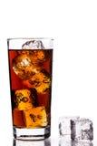 Ice Tea on white background Stock Photos