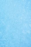Ice Texture. Close-up ice, blue, with great frozen patterns and textures Royalty Free Stock Photography