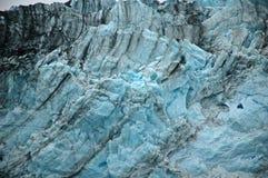 Ice Texture. Harvard Glacier in the College Fjord, Alaska Stock Photography