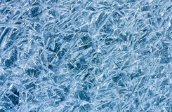 Ice texture Stock Photo