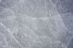 Ice texture. On outdoor skating rink Stock Photography
