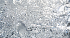 Ice Texture Stock Photography
