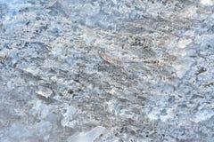 Ice texture stock image