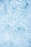 Ice texture. Vibrant color detailed ice texture Stock Image