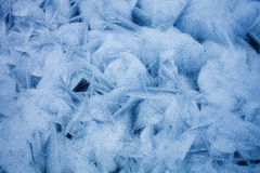 Ice texture of frozen sea Royalty Free Stock Photos