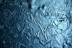 Ice texture macro blue broken cold Royalty Free Stock Photography