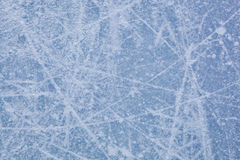 Ice Texture Of Ice Skating Rink. Royalty Free Stock Photos