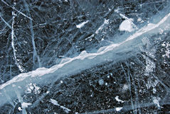 Ice texture, snow winter background Royalty Free Stock Images