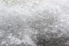 Crashed ice background stock image