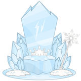 Ice Throne Royalty Free Stock Image