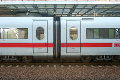 ICE Train At Berlin Station Stock Photos