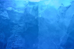Ice transparent wal royalty free stock image