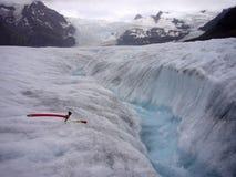 Ice trekking Stock Photography