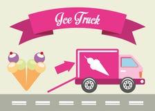 Ice truck Stock Image