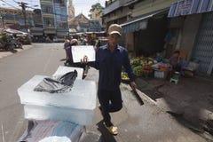 Ice vendor Royalty Free Stock Photo