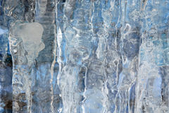 Ice wall Stock Images