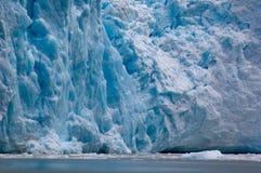 Ice wall. The Perito Moreno Glacier Royalty Free Stock Photography