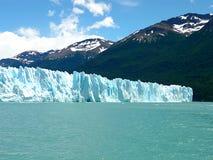 Ice wall stock image