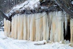 Ice Wall Royalty Free Stock Photo