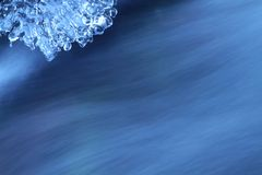 Ice and water Royalty Free Stock Photography
