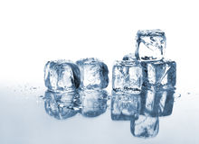 Ice and water Royalty Free Stock Image