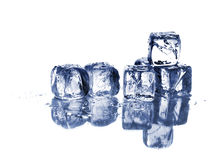 Ice and water Stock Image