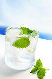 Ice water Stock Photography
