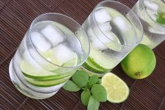 Ice water Royalty Free Stock Images