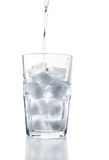 Ice Water (clipping path) Royalty Free Stock Image