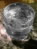 Ice water - cool and refreshing Stock Image