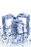 Ice and water drops Royalty Free Stock Images