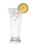 Ice water with lime Stock Photos