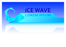 Ice wave Stock Images