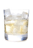 Ice in whiskey Stock Photography