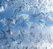 Ice on the Window Stock Photos