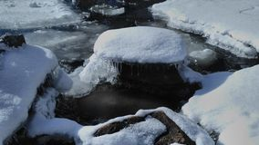 Ice. Winter water icewater royalty free stock photo