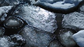 Ice. Winter water icewater royalty free stock images