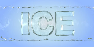 Ice. Word Stock Images
