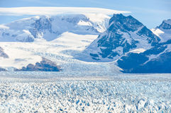 Ice world, Perito Moreno Glacier, Argentina royalty free stock images