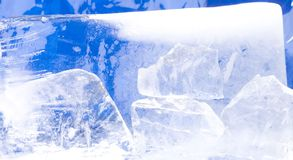 Ice1 fotografie stock