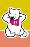 Icebear mignon Photographie stock