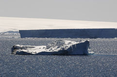Iceberg à l'île de Ross Image stock
