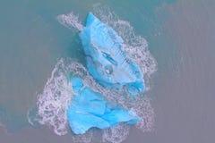 Iceberg ártico acción del hielo área Novaya Zemlya Fotos de archivo libres de regalías